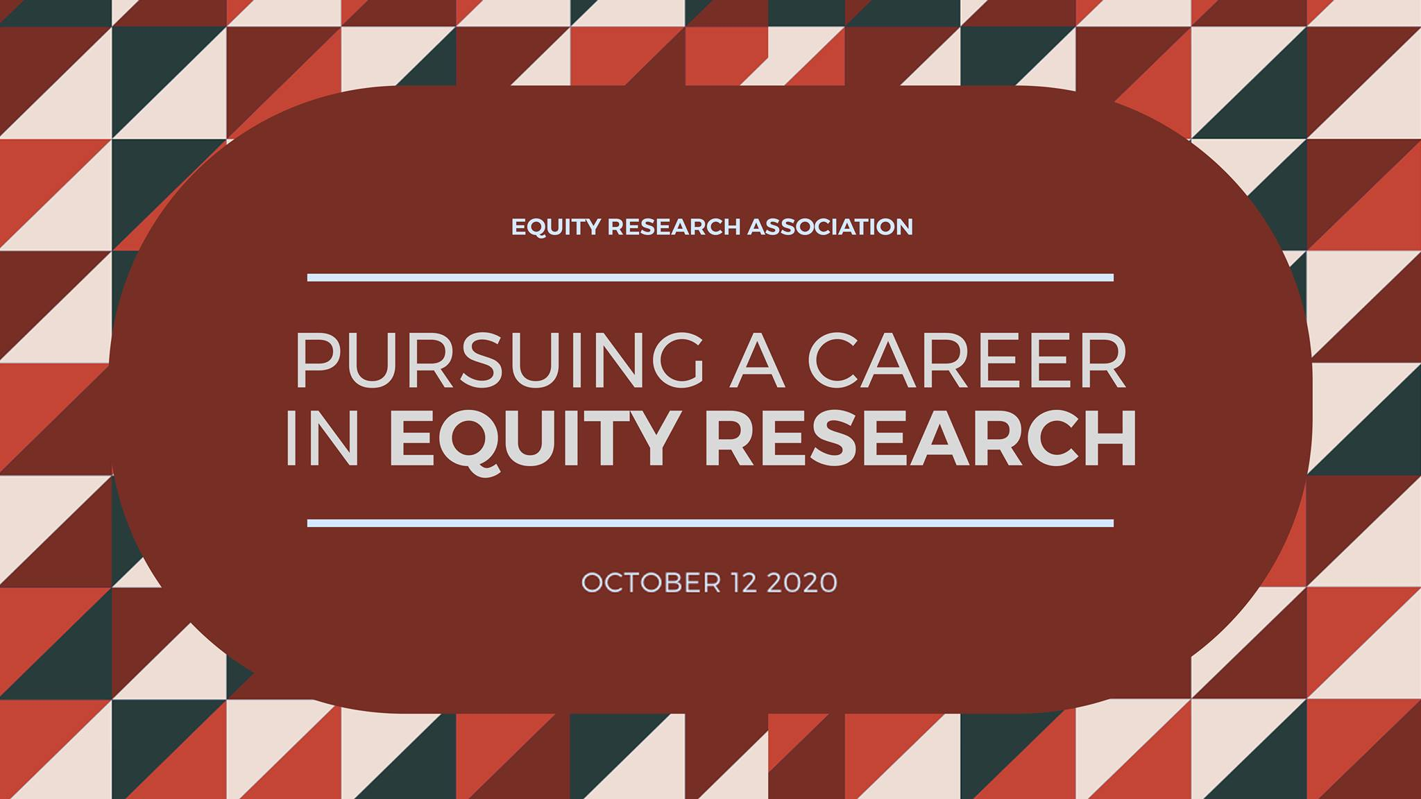 Pursuing a Career in Equity Research